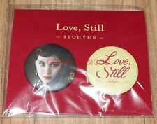 SEOHYUN SNSD Love, Still THE AGIT CONCERT GOODS PIN BUTTON SET NEW