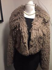 BELLISSIMA pelliccia visone giacca in buonissima condizione Taglia 14