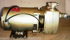 General Electric A-C AC Motor for Pump Duty 5K36FG847 _ 3450 RPM _ 1/3 HP _ 3 PH