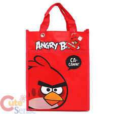Rovio Angry Birds Multipurpose Tote Bag  Red Bird Tarpaulin Bag  Licensed