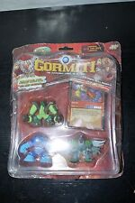 GORMITI LORDS OF NATURE FIGURE 3 PACK UNKNOWN SET MOC