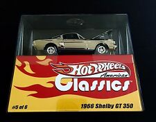 Hot Wheels American Classics 1966 Shelby GT 350 1:43  #4742 of 5000
