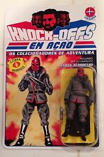 GI. Joe Cobra Custom Carded Baron Bloodclot Action Figure