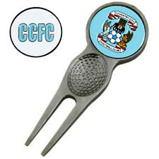 Coventry City Fc Golf Pitch Fork Divot Tool & Marker Set