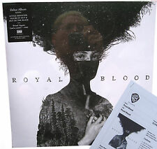 ROYAL BLOOD LP Royal Blood  Vinyl + Full DOWNLOADS + PROMO Sheet SEALED Figure