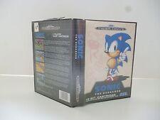 ☺ Jeux Mega Drive Sega Sonic The Hedgehog Vendu Avec Boite & Notice