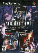 Resident Evil: The Essentials Collection [PlayStation 2, Horror, Action] NEW