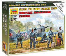 Zvezda 1/72 Figures - Soviet Air Force Ground Crew Z6187