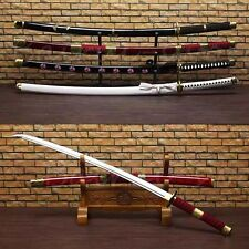 Handmade One Piece Sword 1060 High Carbon Steel Japanese Samurai Katana Sword