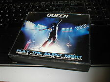 QUEEN PLAY THE SILENT NIGHT LIVE AT HAMMERSMITH ODEON 2CD AND DVD COLLECTORS SET
