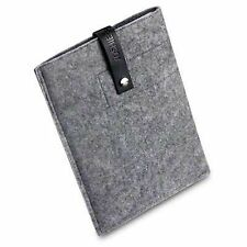 Samsung Galaxy Tab 10.1 Handmade Felt Wool Sleeve Pouch Case Cover - Grey