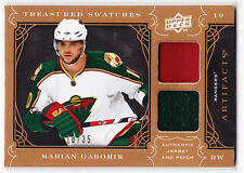 2009 / 2010 Artifacts MARIAN GABORIK Treasured Swatches Dual PATCH Card 10/35!