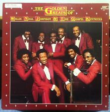 WILLIE NEAL JOHNSON the golden greats of LP VG NA-7278 Rare Gospel Disco 1983