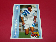 BERNARD CASONI OLYMPIQUE MARSEILLE OM FRANCE FOOTBALL CARD PANINI 1994