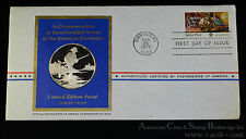 1975 Heroes American Revolution 39mm Silver Proof Medal & First Day Cover (06).