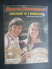 Sports Illustrated July 15, 1974 Jimmy Connors Chris Evert Wimbledon Jul '74 C