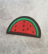 WATER MELON PATCH IRON ON BADGE APPLIQUE