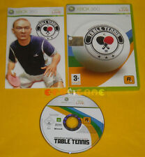 TABLE TENNIS XBOX 360 Versione Ufficiale Italiana Ping Pong »»»»» COMPLETO