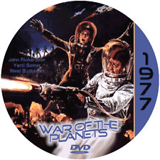 War of the Planets (1977) Classic Sci-fi and Horror 'B' Movie DVD NR