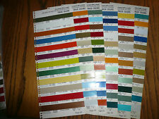 1973 Commercial Truck Colors Sherwin-Williams Color Chip Paint Sample
