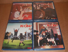 K-On!, Vol. 1,2,3,4 Complete Season One, New Blu-ray