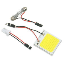Hot Fashion White Car 48 SMD COB LED Panel Light Dome Interior Bulb Lamp T10 12V