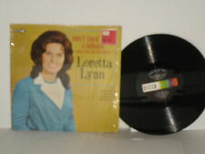 LORETTA LYNN Don't Come Home A Drinkin' LP 1967 Mono Making Plans I Got Caught