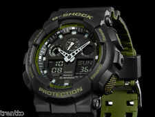 RELOJ CASIO G-SHOCK WATCH ALARMA CRONOGRAFO HOMBRE DIGITAL GA-100L-1AER 200 M