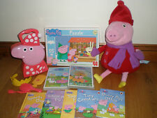 BUNDLE OF PEPPA PIG TOYS ETC.