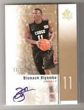 Bismack Biyombo 11/12 SP Authentic GOLD Auto RC #19 SN#23/25