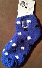 INDIANAPOLIS COLTS PLUSH SLIPPER SOCKS NEW NFL LUCK MANNING