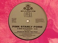 Pink Stanly Ford – A New Style Baby *** Oldskool - Vinyl - Hardcore - Jungle ***