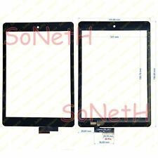 "Vetro Touch screen Digitizer 8,0"" Mediacom SmartPad S2 8S23G 3G Tablet Nero"