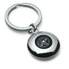Travellers Adventure Working Pole Compass Keyring Key Chain Key Fob - Great Gift