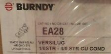 BURNDY EA28 VERSILUG 1/0STR-40 STR CU CONDITION