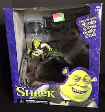 "MCFARLANE TOYS SHREK ""SHREK'S SWAMP HOUSE"" MINI FIGURE PLAYSET FARQUAAD S-72"