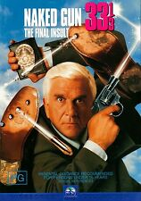 Naked Gun: 33 1/3 - The Final Insult - Leslie Nielsen DVD Region 4