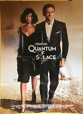 Affiche James bond 007. QUANTUM OF SOLACE.  120x160 cms. Daniel Craig