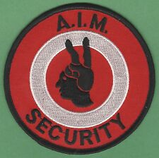 AIM AMERICAN INDIAN MOVEMENT TRIBAL SECURITY PATCH