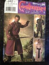 Simplicity Sewing Pattern No 4942 Mens Lord of Rings Costume Medieval Size XS-XL