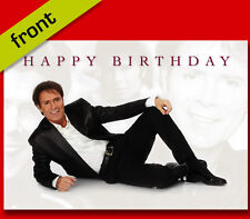 CLIFF RICHARD BIRTHDAY CARD Top Quality Repro Autograph Signed A5