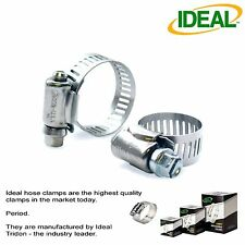 20pc's IDEAL Hose Clamps Micro-Gear Size #4 / 6-16mm 1/4 - 5/8""
