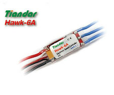 Hawk 6A ESC With BEC, Airplane or Helicopter, 2s 6-9v