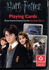 Harry Potter.  Films 1-4.  Playing cards.  NEW