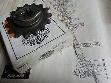 """AERMACCHI SS250 """"NEW OLD STOCK/NEW IN BOX"""" 15 TOOTH SPROCKET #35175-76P"""