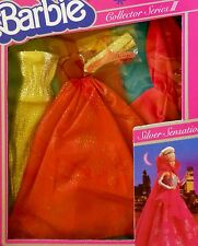 BARBIE SILVER SENSATION COLLECTOR SERIES III VINTAGE KLEIDUNG 1983 #7438 NRFB