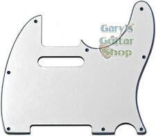 New WD Telecaster Tele Pickguard w/b/w 3 Ply 8 Hole Free Screws Made in USA!