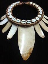 Shell Necklace Traditional Jewelry Hand Made Tribal Asmat Papua New Guinea Art