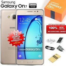 New Sealed Unlocked SAMSUNG Galaxy ON7 SM-G6000 Gold 4G Android Mobile Phone