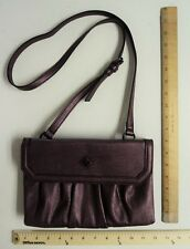 VERA WANG Women's Hand Bag Tote Purse Purple PLUM FLASH SALE